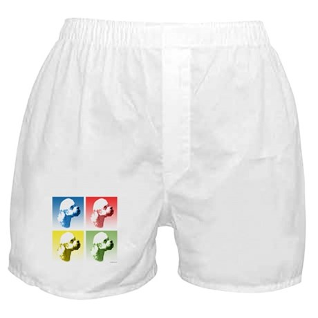 Dandie Dinmont Pop Art Boxer Shorts