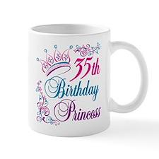 35th Birthday Princess Mug