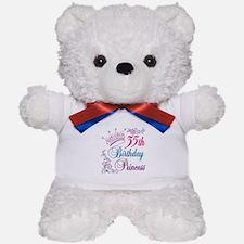 35th Birthday Princess Teddy Bear