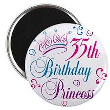 35th Birthday Princess Magnet