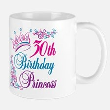 30th Birthday Princess Mug