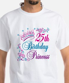 25th Birthday Princess Shirt