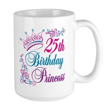 25th Birthday Princess Mug