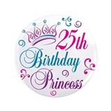 25th birthday tiara Single