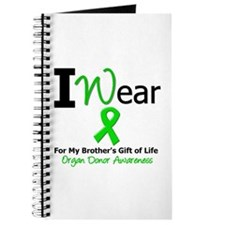 I Wear Green (Brother) Journal