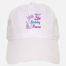 21st Birthday Princess Baseball Baseball Cap