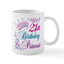 21st Birthday Princess Small Mug