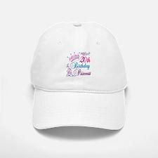 20th Birthday Princess Baseball Baseball Cap