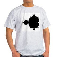 Mandelbrot Set Ash Grey T-Shirt