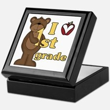 Loves 1st Grade Keepsake Box