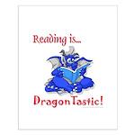 Small Poster / Reading Dragon