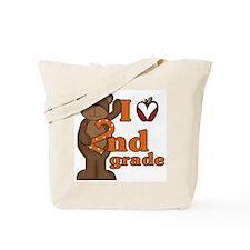 Loves 2nd Grade Tote Bag