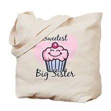 Sweetest Big Sister Tote Bag
