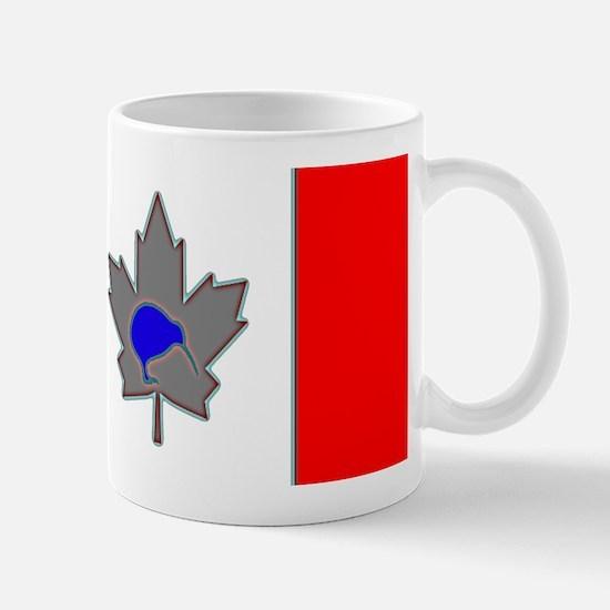 Ice Blue Canadian Kiwi Mug