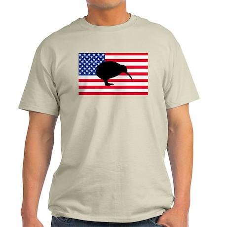 U.S. Kiwi Flag Light T-Shirt