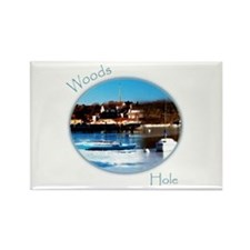 Woods Hole Rectangle Magnet