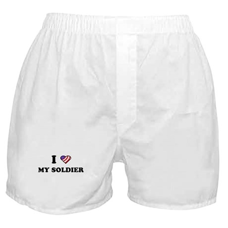 "American Flag ""I Love My Sold Boxer Shorts"