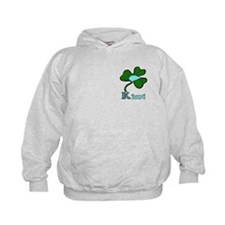 Celtic Kiwi Blue Hoody