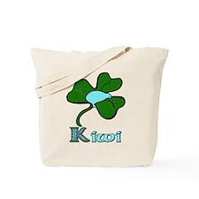 Celtic Kiwi Blue Tote Bag