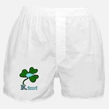 Celtic Kiwi Blue Boxer Shorts