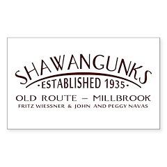 Shawangunks First Ascent Decal