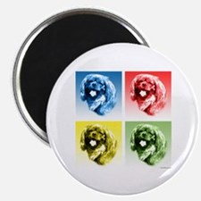 English Toy Pop Art Magnet