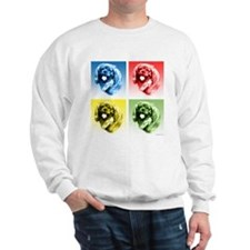 English Toy Pop Art Sweatshirt