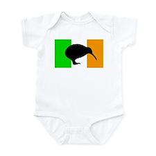 Irish Flag Kiwi Infant Bodysuit