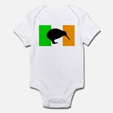 Irish Flag Kiwi Infant Bodysuit