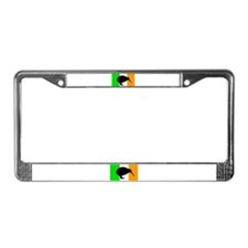 Irish Flag Kiwi License Plate Frame