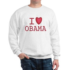 I Heart Obama Sweatshirt