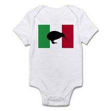 Italian Kiwi Flag Infant Bodysuit