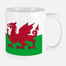 Welsh flag of Wales Mug