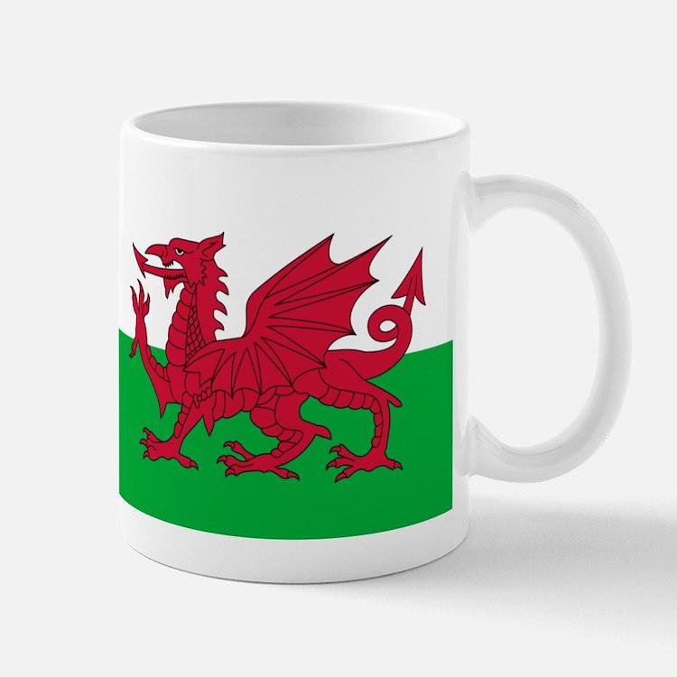 Welsh flag of Wales Small Small Mug