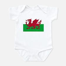 Welsh flag of Wales Onesie
