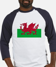 Welsh flag of Wales Baseball Jersey