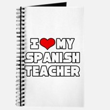 """I Love My Spanish Teacher"" Journal"