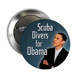 Scuba Divers for Obama campaign button