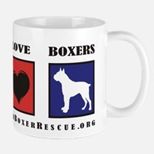Peace Love Boxers - Lone Star Mug