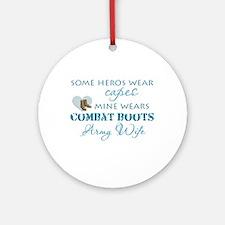 My hero wears Ornament (Round)