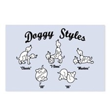 Doggy Styles Postcards (Package of 8)
