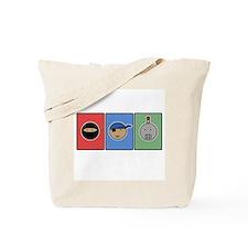 ninja pirate robot Tote Bag