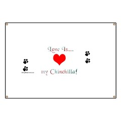Chinchilla Love Is Banner