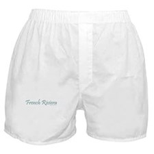 French Riviera (Teal) - Boxer Shorts