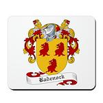 Badenock Family Crest Mousepad