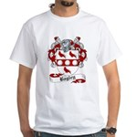 Bagley Family Crest White T-Shirt