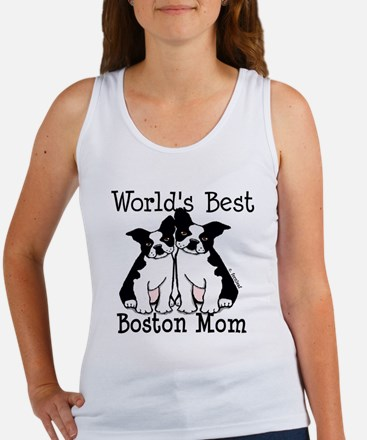 World's Best Boston Mom Women's Tank Top