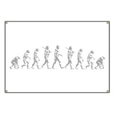 Evolution of Man Banner