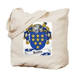 Baillie Family Crest Tote Bag