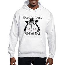 World's Best Boston Dad Hoodie